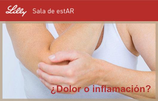 Artritis reumatoide: ¿Dolor o inflamación?