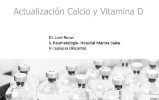 Actualización Calcio y Vitamina D