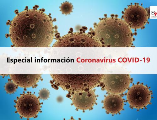Especial información Coronavirus COVID-19 (SVR)