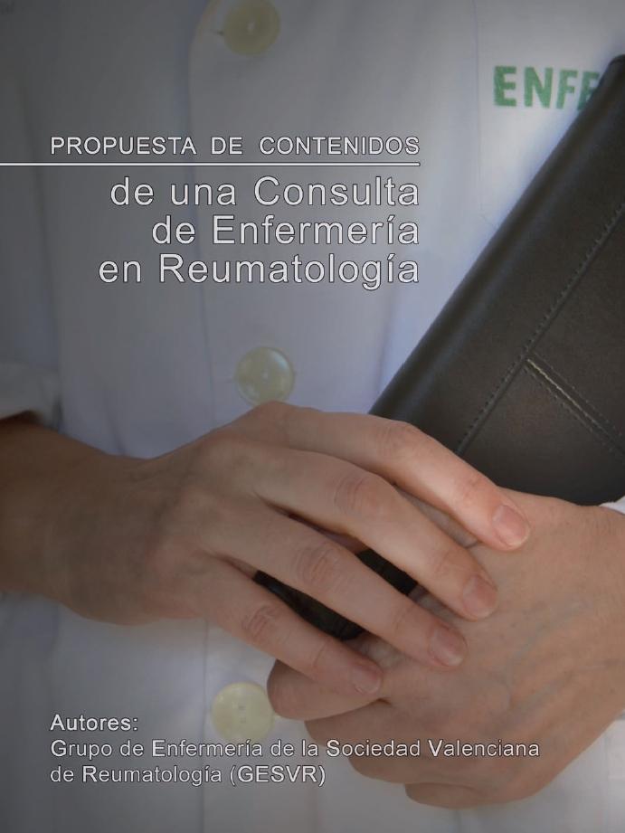 Propuesta de contenidos de una Consulta de Enfermería en Reumatología