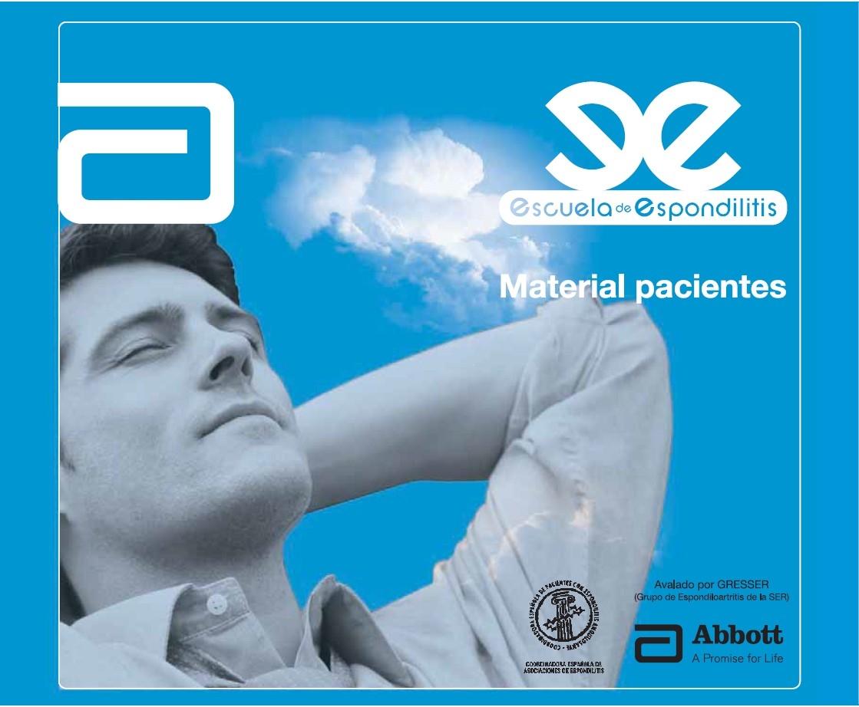 Escuela de espondilitis – Material pacientes