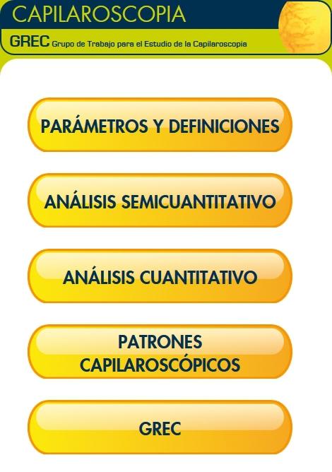 Manual para el estudio de la Capilaroscopia del GREC (Grupo de estudio de la Capilaroscopia)